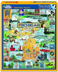 Best of Michigan 1000 piece jigsaw puzzle 760mm x 610mm  (wmp)
